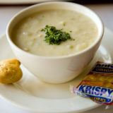 New England Clam Chowder at Solar & Energy Storage Northeast